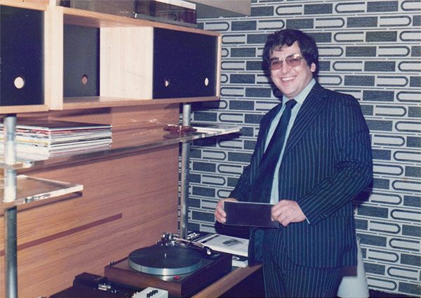 Ivor and the LP12 circa 1982